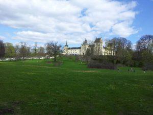 Tyresö slott och den vackra slottsparken