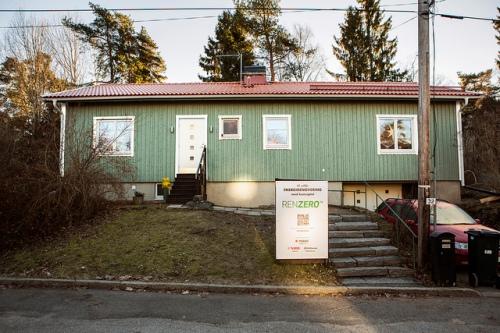 Sveriges första nära noll renoverade småhus