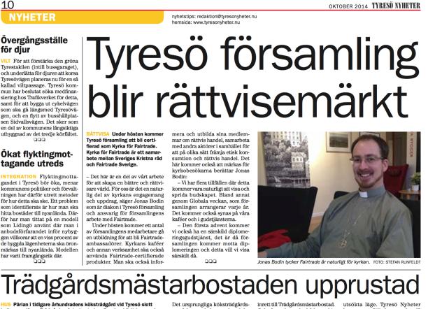 Tyresö-Nyheter-artikel-Jonas-Bodin-rättvisemärkt